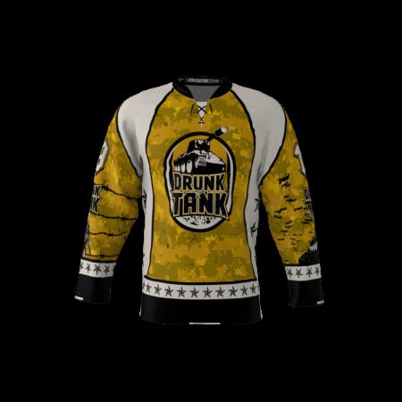 Drunk Tank Custom Hockey Jersey