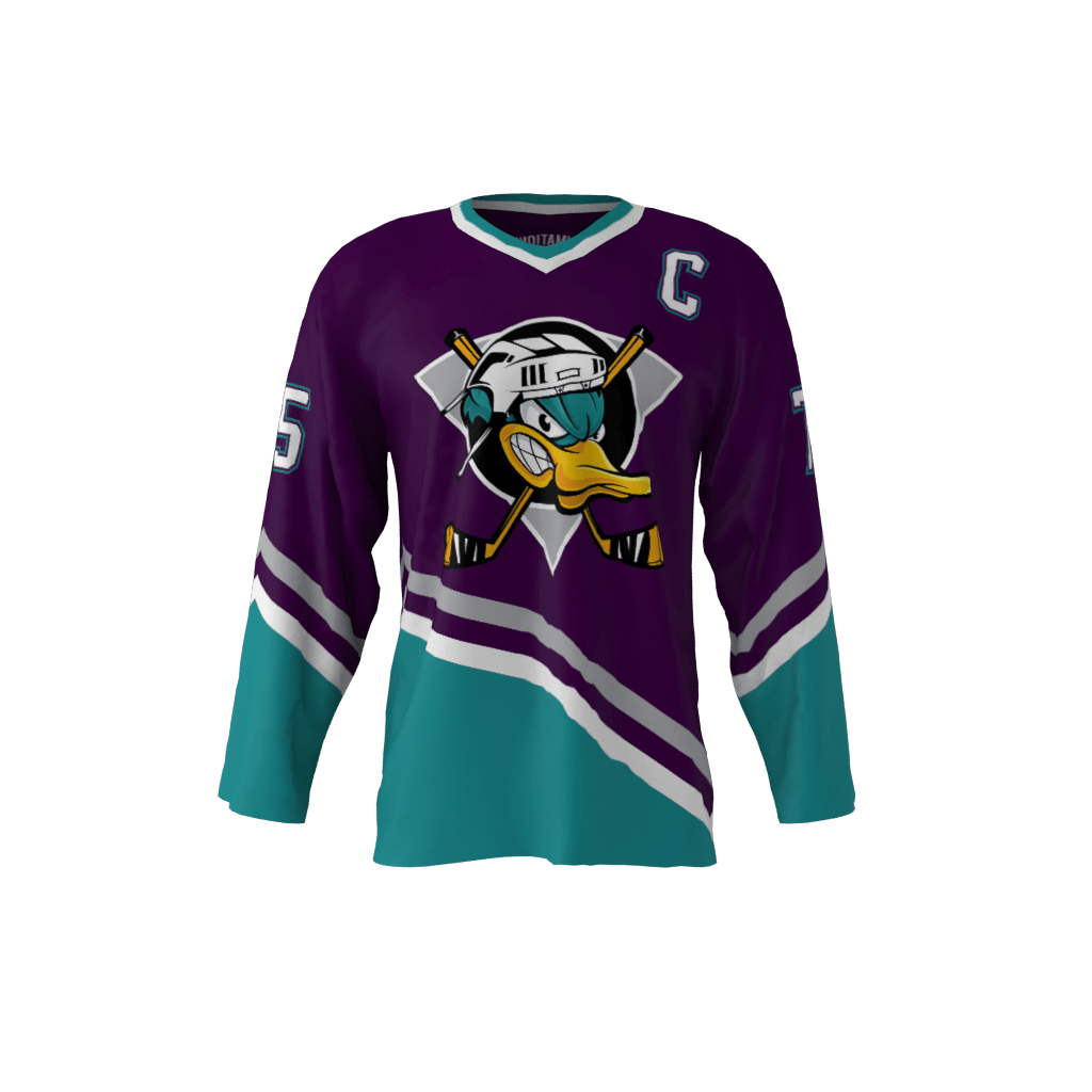 Ducks Custom Roller Hockey Jersey 11a061c5297