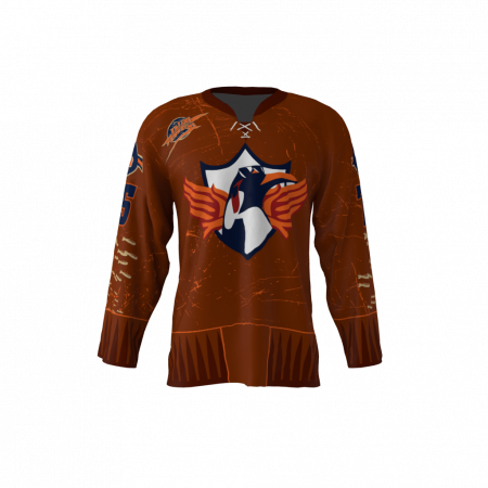 Flying Penguins Custom Hockey Jersey