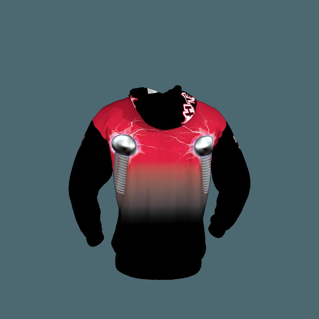 High Tension Custom Sublimated Softball Hoodie