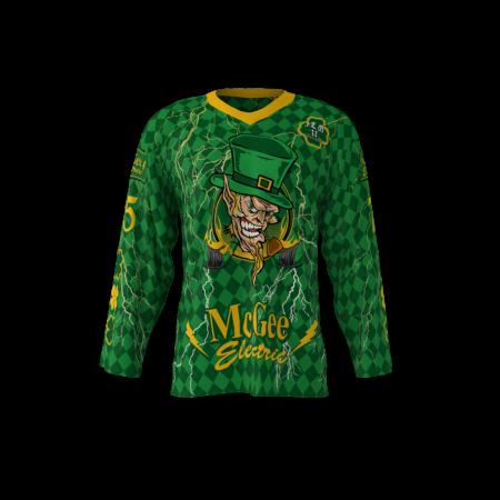 McGee Electric Custom Roller Hockey Jersey