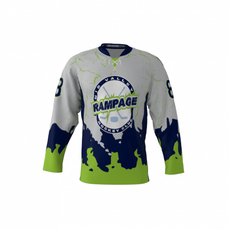 Rampage Custom Hockey Jersey