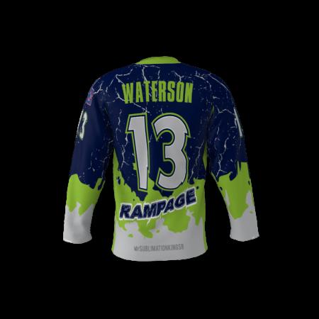 Rampage Custom Hockey Jersey
