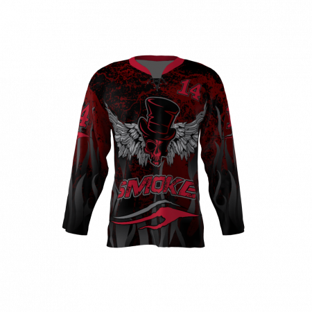 Smoke Custom Hockey Jersey