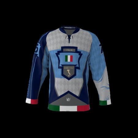 Sons Of Italy Jersey Custom Roller Hockey Jersey
