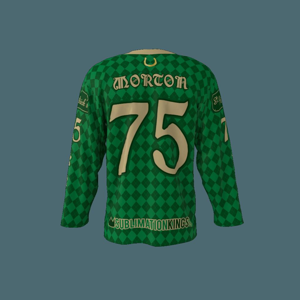 St. Patricks Custom Roller Hockey Jersey 91057c17545