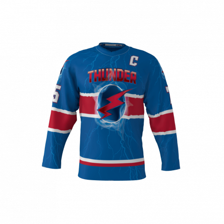 Thunder Custom Hockey Jersey