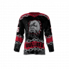 Bulldogs Black Custom Hockey Jersey