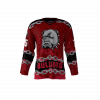 Bulldogs Red Custom Hockey Jersey