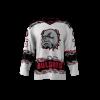 Bulldogs White Custom Hockey Jersey