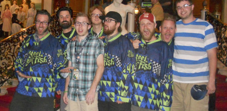 Reel Big Fish rocking out with Sublimation Kings