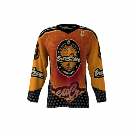 Brew Crew Custom Hockey Jersey
