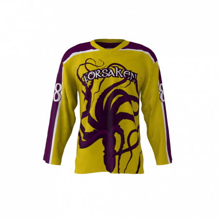 Forsaken Custom Hockey Jersey