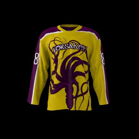 Forsaken Custom Hockey Jersey