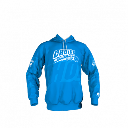 Choice Sports Arena Custom Sublimated Hoodie