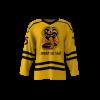 Cobra Kai Gold Custom Hockey Jersey