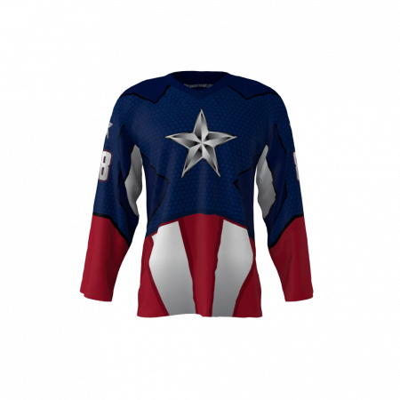 American Captain Custom Hockey Jersey