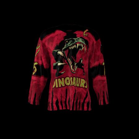 Dinosaurs Custom Hockey Jersey