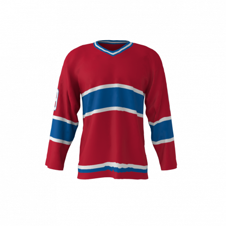 Montreal 1974 Ice Hockey Jersey Red