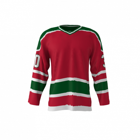 New Jersey 1982 Ice Hockey Jersey Red