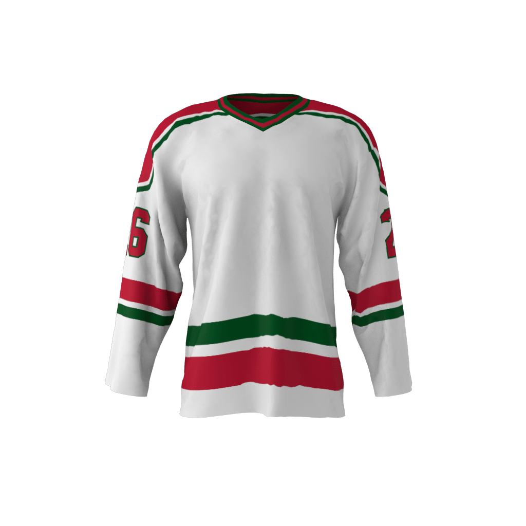 New Jersey 1982 Ice Hockey White