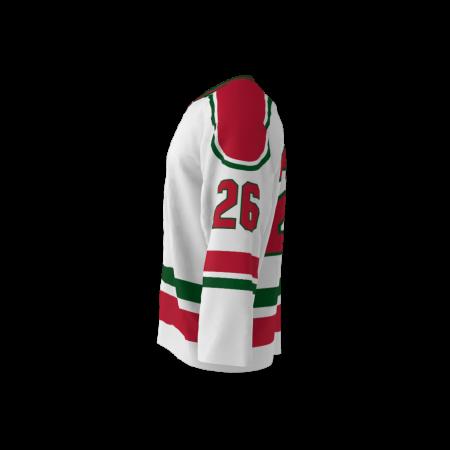 New Jersey 1982 Ice Hockey Jersey White