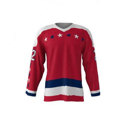 Washington 1979 Ice Hockey Jersey Red