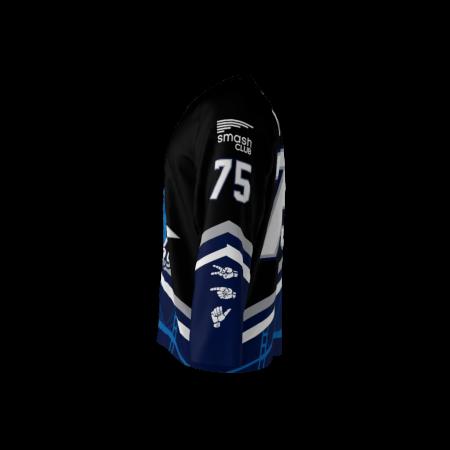Rippers Black Custom Hockey Jersey