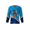 Rippers Blue Custom Hockey Jersey