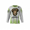 Spider Monkeys White Custom Dye Sublimated Hockey Jersey