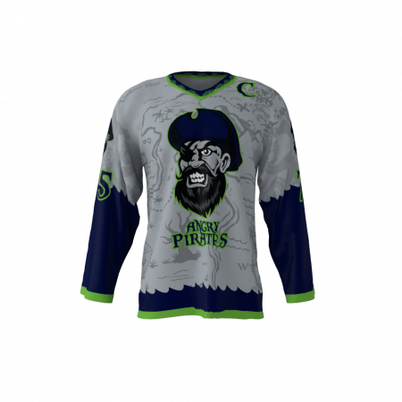 Angry Pirates Custom Sublimated Ice Hockey Jersey