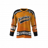 District 5 Orange Custom Dye Sublimated Ice Hockey Jersey