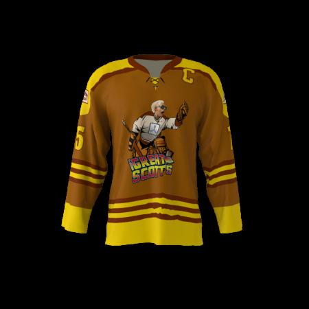 Great Scotts Custom Dye Sublimated Hockey Jersey
