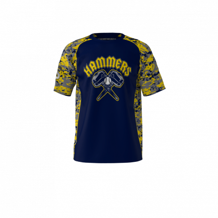 Hammers Custom Dye Sublimated Softball Jersey