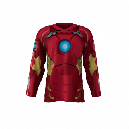 Iron Men Custom Dye Sublimated Hockey Jersey