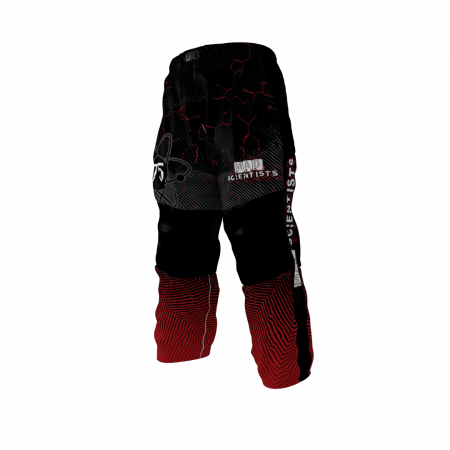 Mad Scientists Custom Dye Sublimated Roller Hockey Pants