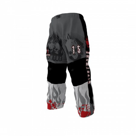 Nightmare Custom Dye Sublimated Roller Hockey Pants