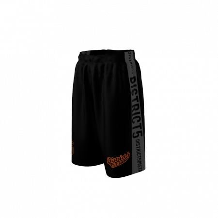 District 5 Custom Dye Sublimated Shorts