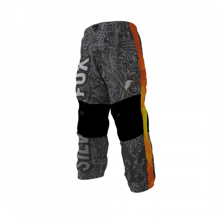 Silver Fox Custom Dye Sublimated Roller Hockey Pants