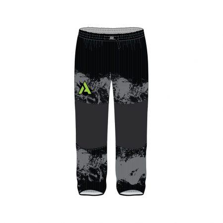 Animals Black Custom Dye Sublimated Roller Hockey Pants
