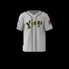 Kings Custom Dye Sublimated Full Button Baseball Jersey
