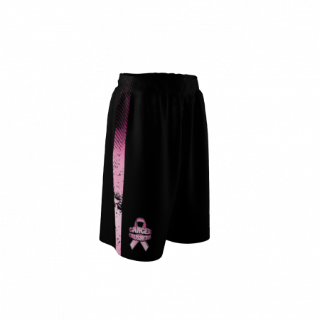 Cancer Crushers Custom Dye Sublimated Softball Shorts