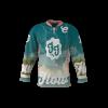 Florida Flow Dark Custom Dye Sublimated Roller Hockey Jersey