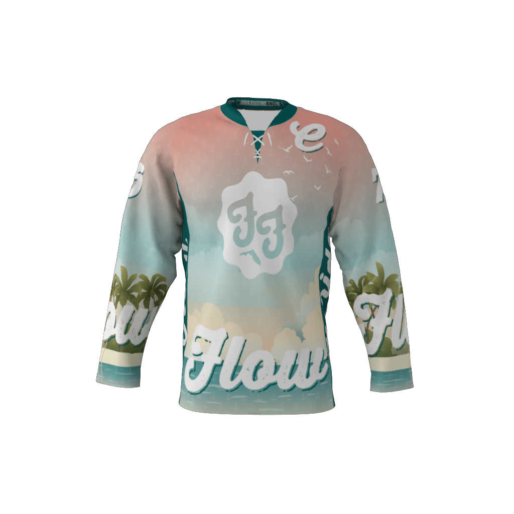 Florida Flow Light Custom Dye Sublimated Roller Hockey Jersey 413e2e1fa