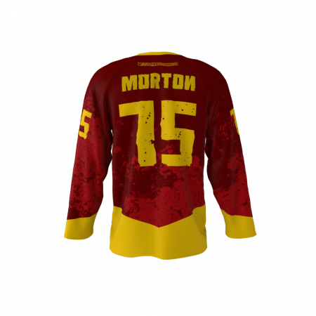 Red Army Custom Dye Sublimated Ice Hockey Jersey