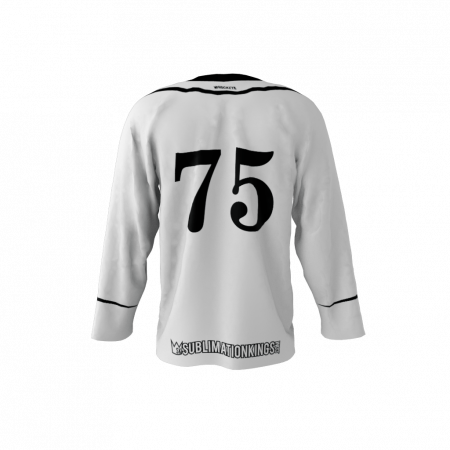 Tuxedo Custom Dye Sublimated Roller Hockey Jersey