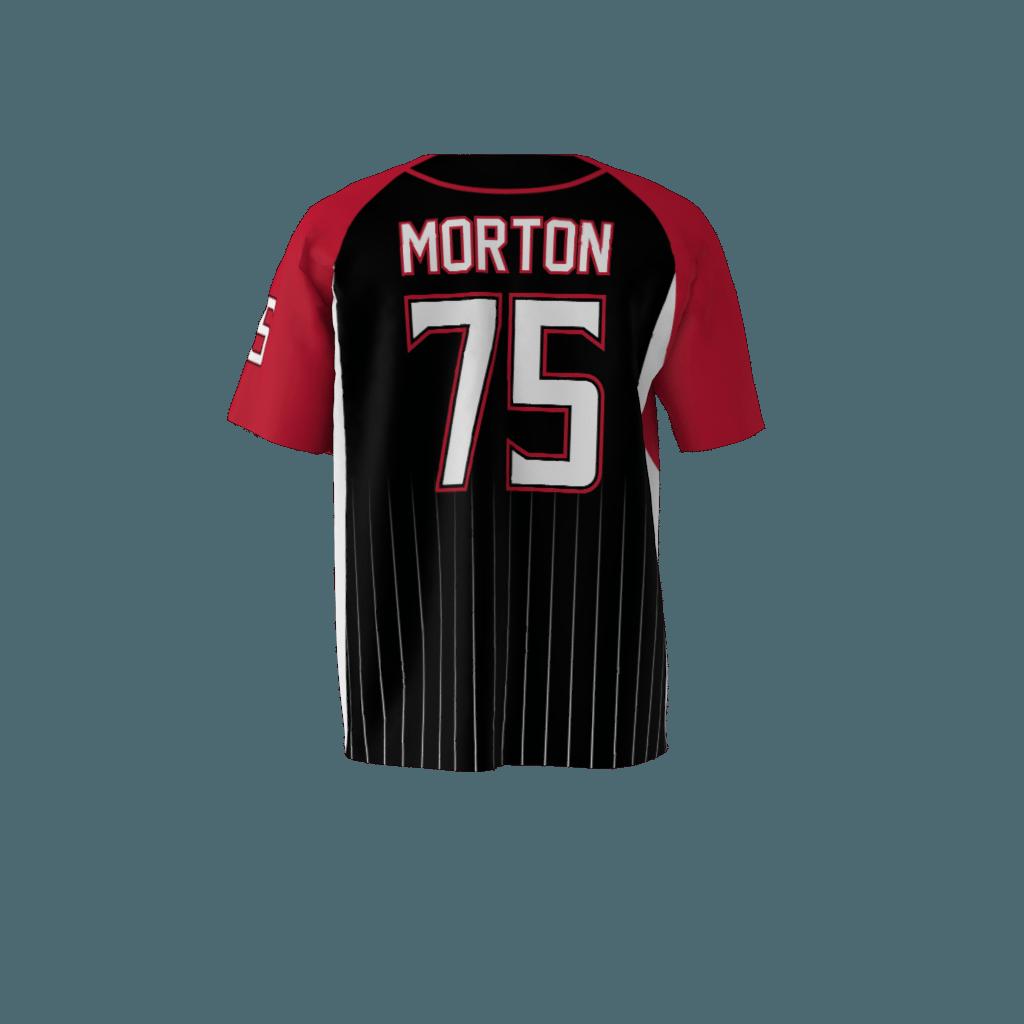 on sale 434cd 7da07 Bulldogs Black Baseball Jersey
