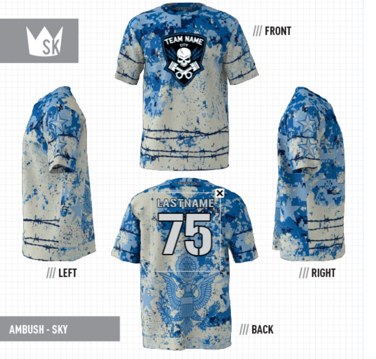 slow pitch softball jersey builder | Sublimation Kings