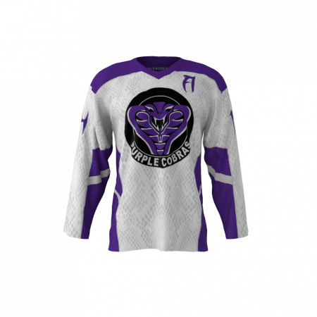 Purple Cobras Custom Dye Sublimated Roller Hockey Jersey