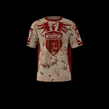 Deserters Custom Sublimated Softball Jersey